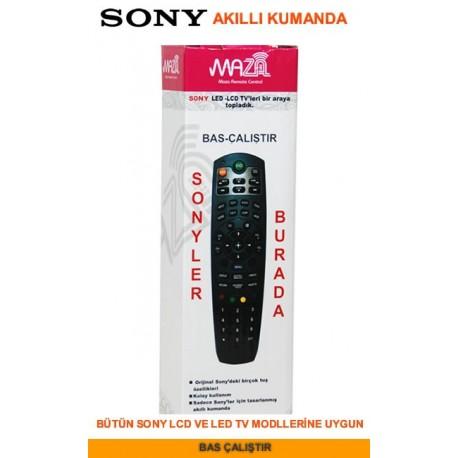 Maza Sony Lcd Led Akıllı Tv Kumandası