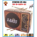 Everton RT-804 Usb Ve Kart Girişli Manuel El Radyosu