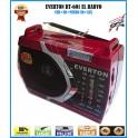 Everton RT-601 Usb Ve Kart Girişli Manuel El Radyosu