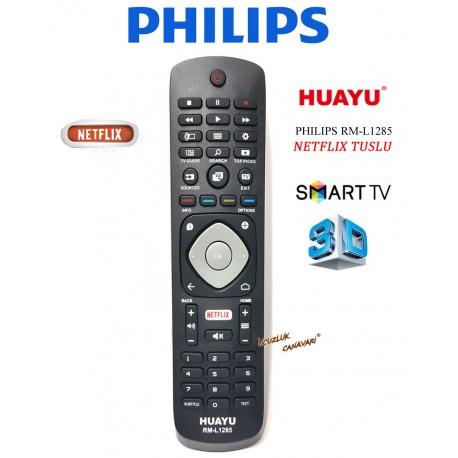 Phılıps Lcd Led Tv Kumandasi Netflıx Smart Tuşlu RM-L1285