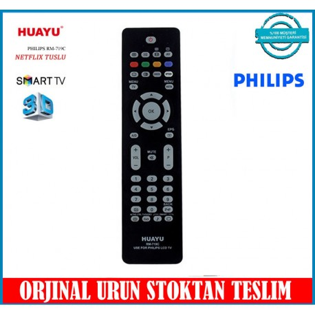 Philips Lcd Led Plazma Tv Kumandası Huayu RM-719C
