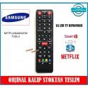 Samsung Led TV Kumandası Uydu Alıcılı Netflix Tuşlu Kısa Kasa