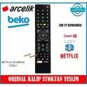 Arçelik Beko Led Tv Kumandası Uydu Alıcılı Netflix Media 3D Tuşlu