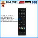 Vestel Hi-Level Regal Led Uydu Alıcılı TV kumandasi Küçük Kasa A101 BİM Market TV