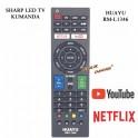 Sharp Led Tv Kumandası Netflix Youtube Tuşlu RM-L1346