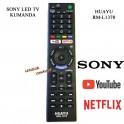 Sony Led TV kumandasi Netflix Youtube Tuşlu RM-L1370