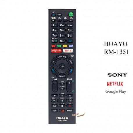 Sony Led TV kumandasi Gogle play Netflix Youtube Tuşlu RM-L1351