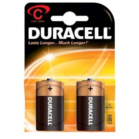 Duracell C Orta Boy Pil 2 li Kart