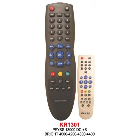 BRIGHT 4000-4200-4300-4400 (PEYSS) UYDU KUMANDA