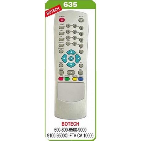 BOTECH 9000-9500 REDLINE UYDU KUMANDA