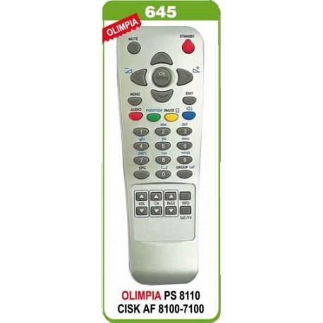 OLYMPIA 8100 8110 7100 TELKOM-KORAX UYDU KUMANDA