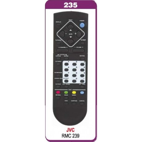 JVC TV kumandasi