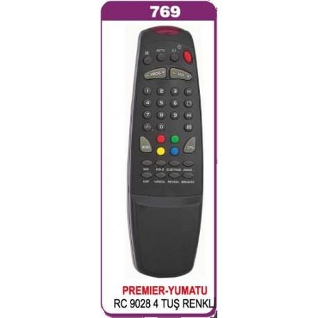 PREMIER RC 9028 TV KUMANDA