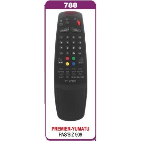 PREMIER YUMATU RENKLI TUSLU TV KUMANDA
