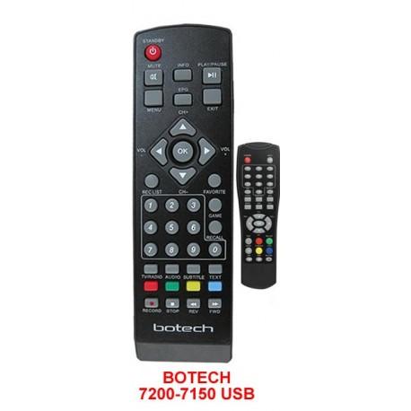 Botech BC 7150 Usb Uydu Kumanda