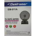 ELEKTROMER EM-011A/B TV ÜSTÜ ANTEN