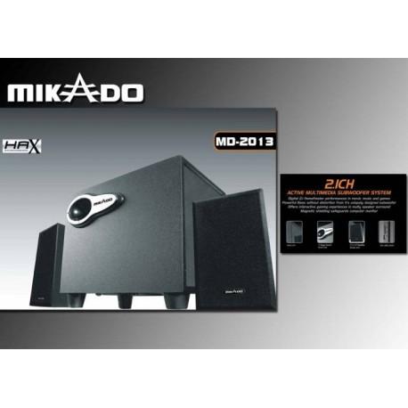 Mikado SPK MD-2013 2+1 SİYAH KART OKUYUCULU