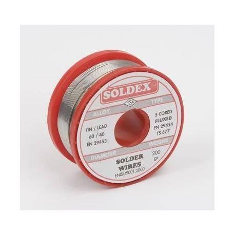Lehim Teli Soldex 250 gr 0.75 mm İnce