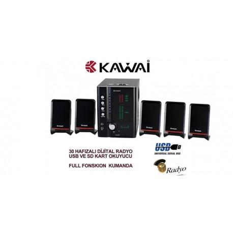 Kawai TX-557 5+1 Ev Sinema Hoparlör Sistemi