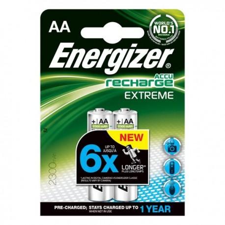 Energizer (E17-9986) Şarjlı 2300 Mah AA Kalem Pil 2Li Blister (Şarj edilmiş)