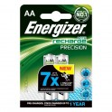 Energizer (E18-4287) Şarjlı 2400 Mah AA Kalem Pil 2Li Blister (Şarj edilmiş)