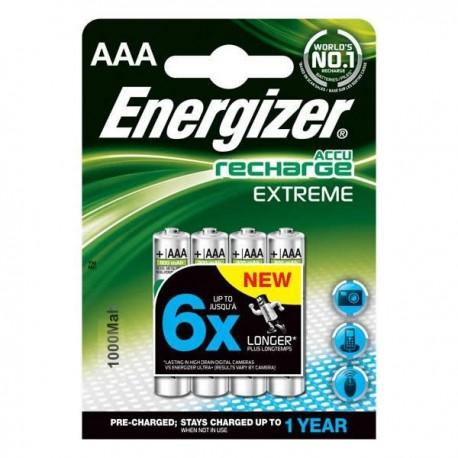 ENERGIZER Energizer (E4-9481) Şarjlı 1000 Mah AAA Kalem Pil 4Lü Blister