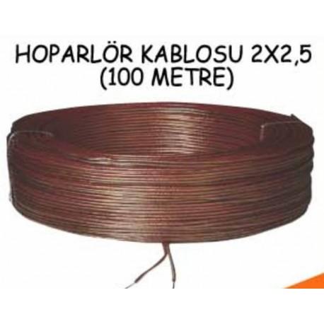 Hoparlör Kablosu 100Mt 2X0.75