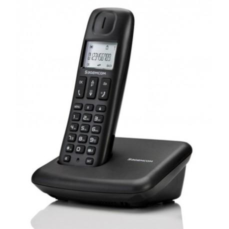 Sagemcom D142 Dect Telefon Siyah