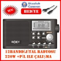 Roxy RXY-510 12 Band Dijital El Radyosu