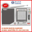 Roxy RXY-210 10 Band Manuel El Radyo