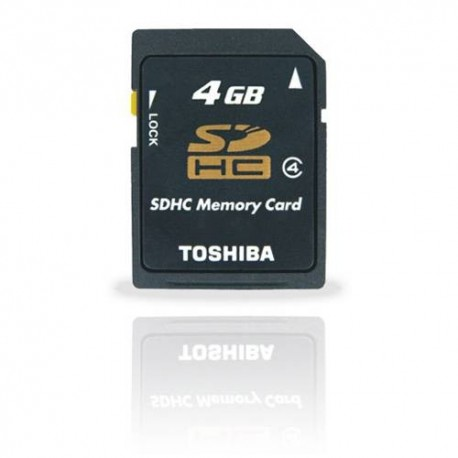 TOSHIBA 4GB SD CARD-BLISTER