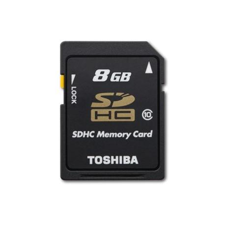 TOSHIBA 8GB SD CARD-BLISTER