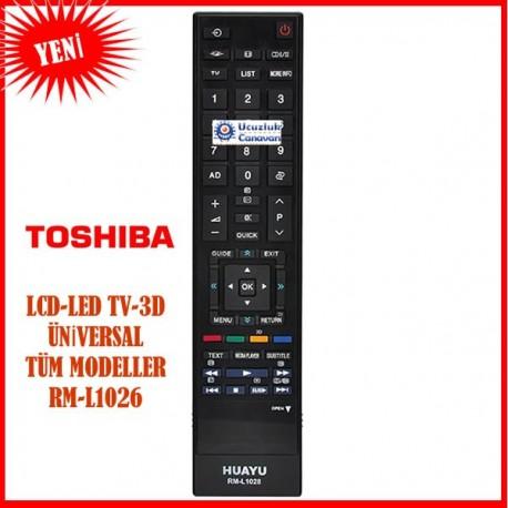 Toshiba Lcd Led Tv Kumandası Tüm Modeller RM-L1028