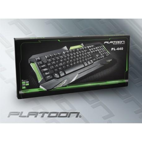 PLATOON PL-440 USB LUX STANDART OYUN KLAVYE