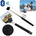 Dahili Bluetooth Kumandalı Selfie Çubuğu
