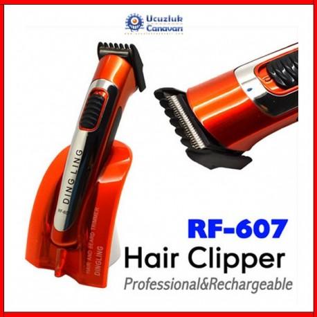 Pritech Şarjlı Saç Sakal Traş Makinesi RF-001