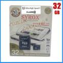 Syrox 32Gb Micro Sd Kart Class 10