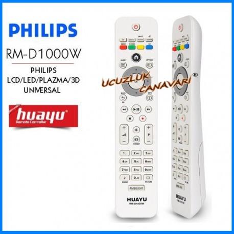 Phılıps Universal Lcd Led Tv Kumandasi RM-D1000W