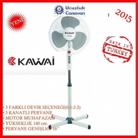 Kawai Str-1100 Ayaklı 3 Kademeli Vantilatör