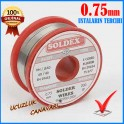 Lehim Teli Soldex 200 gr 0.75mm İnce
