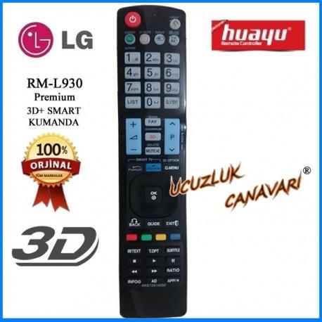 LG RM-L930 Lcd TV kumandasi