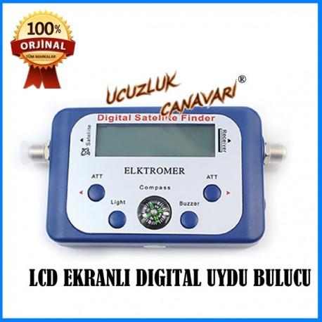 LCD EKRANLI DIGITAL UYDU BULUCU