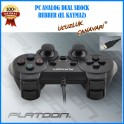 PLATOON PL-2596 PC ANALOG DUAL SHOCK GAME PAD RUBBER