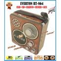 Everton RT-864 Fener Usb Ve Kart Girişli Manuel El Radyosu