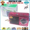 Everton RT-898 Usb Ve Kart Girişli Dijital El Radyosu