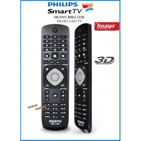 Phılıps Smart Tuşlu Lcd Led Tv Kumandasi RM-D1220