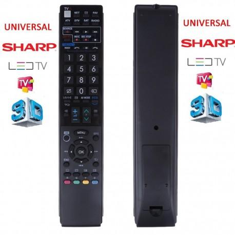 Sharp Lcd Led Tv Kumandası Tüm Modeller RM-L1026