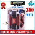 Powermaster Araç Invertör 12V 220Volt Çevirici 300 WAT Modifeld