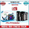 2+1 Ev sinema sistemi Usb+Sd+Bluetoth FM Radio U.Kumanda PL-4233