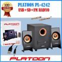 2+1 Ev Sinema Sistemi PL-4222 Usb SD Fm Radyo